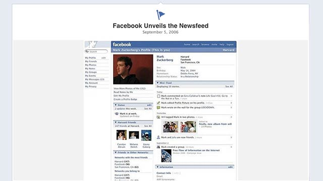 The Definitive History Of People Hating Facebook's Redesigns