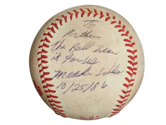 Someone Just Paid $418K For The Bill Buckner World Series Ball