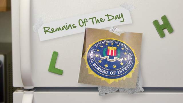 Remains of the Day: FBI Wants Wiretapping Built into Popular Sites