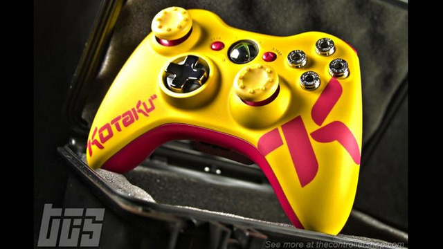 The Controller Shop's Custom Kotaku 360 Pad is a Thing of Beauty