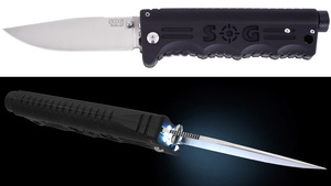 Illuminated Pocket Knife Lets You Stab Your Way Out Of a Dark Room