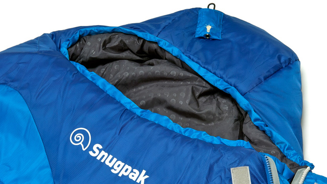 Sleeping Bag With a Built-In Headlight Will Make Midnight Bathroom Hunts a Lot Easier