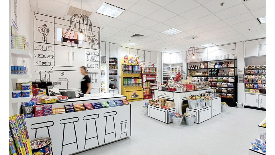 Click here to read Amazing Candy Store Looks Like It Was Drawn By Kids