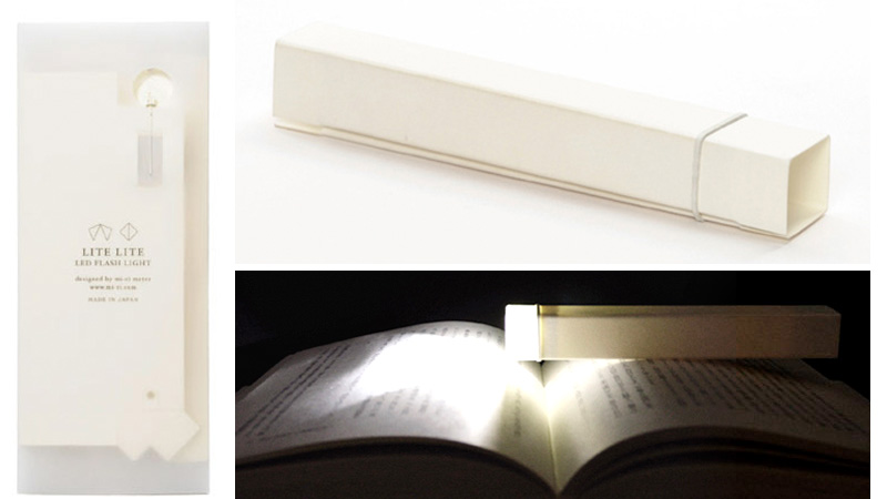 Click here to read Simple Paper Flashlight Folds As Flat As a Bookmark