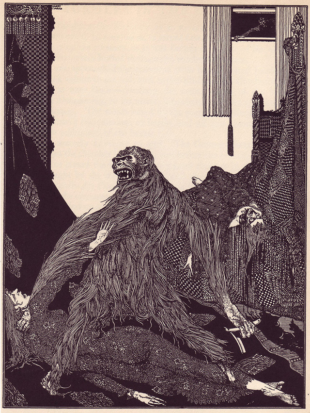 Illustrations that made Edgar Allan Poe's stories even more horrifying