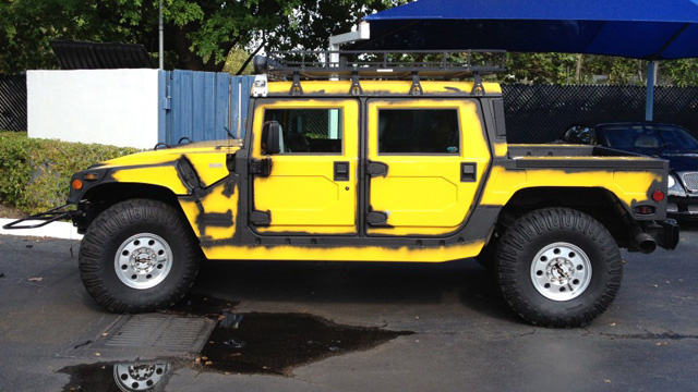 This Is What Happens When Wrapping Your Hummer Goes Wrong