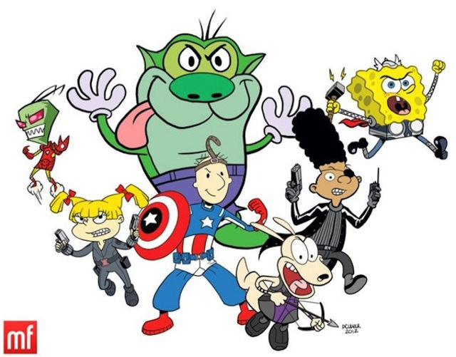 The Nicktoon Avengers Assemble!