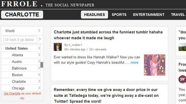 Click here to read Frrole Makes Twitter Into a Local News Source for 51 Cities Worldwide