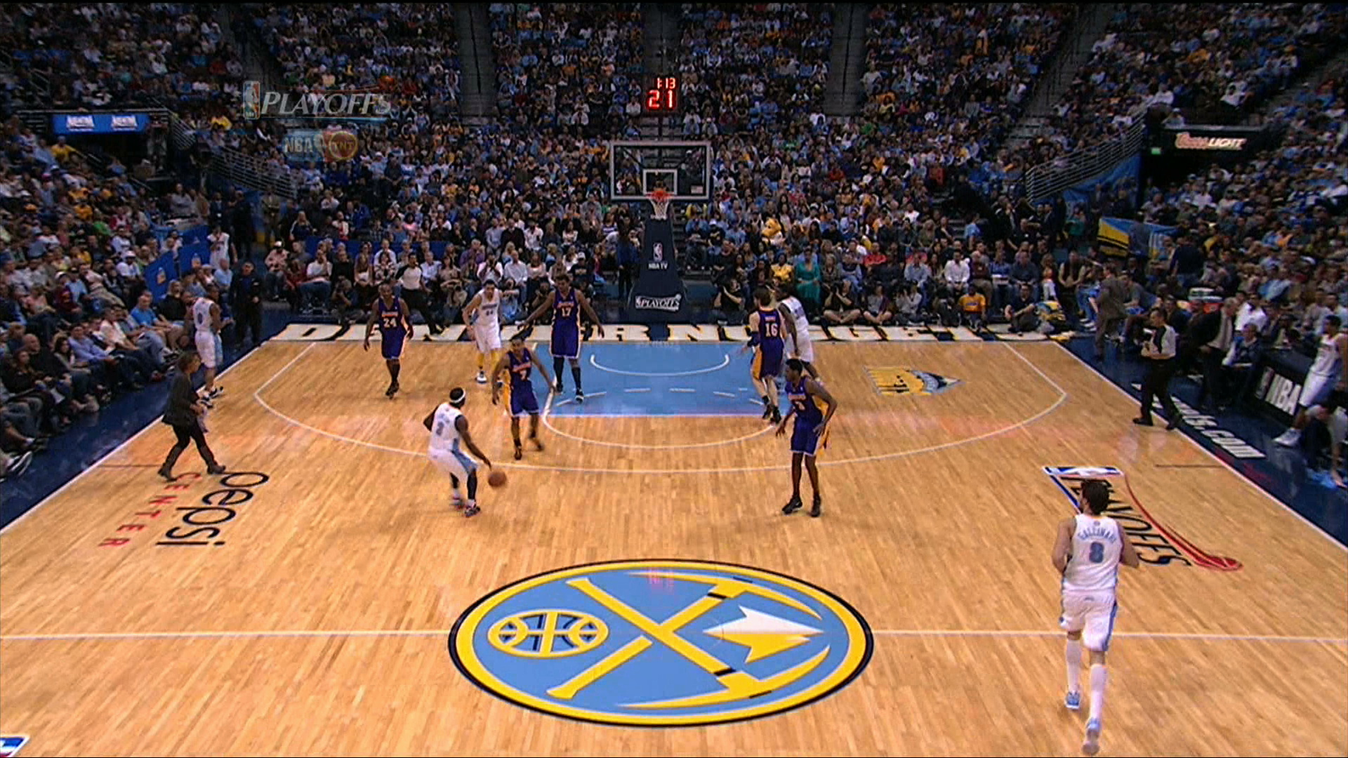 Nuggets Release New Court Design Nba