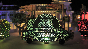 Disneyland Fan Builds a Working Version of the Main Street Electrical Parade on His Coffee Table