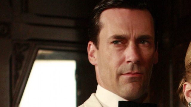 Mad Men's Don Draper Listens to The Beatles — For a Price