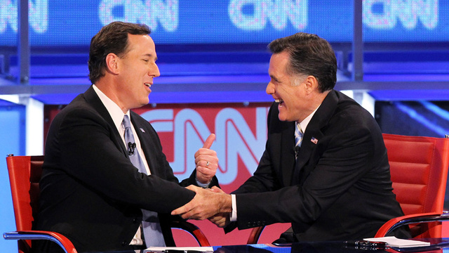 Rick Santorum Endorses Mitt Romney via Middle of the Night Whisper