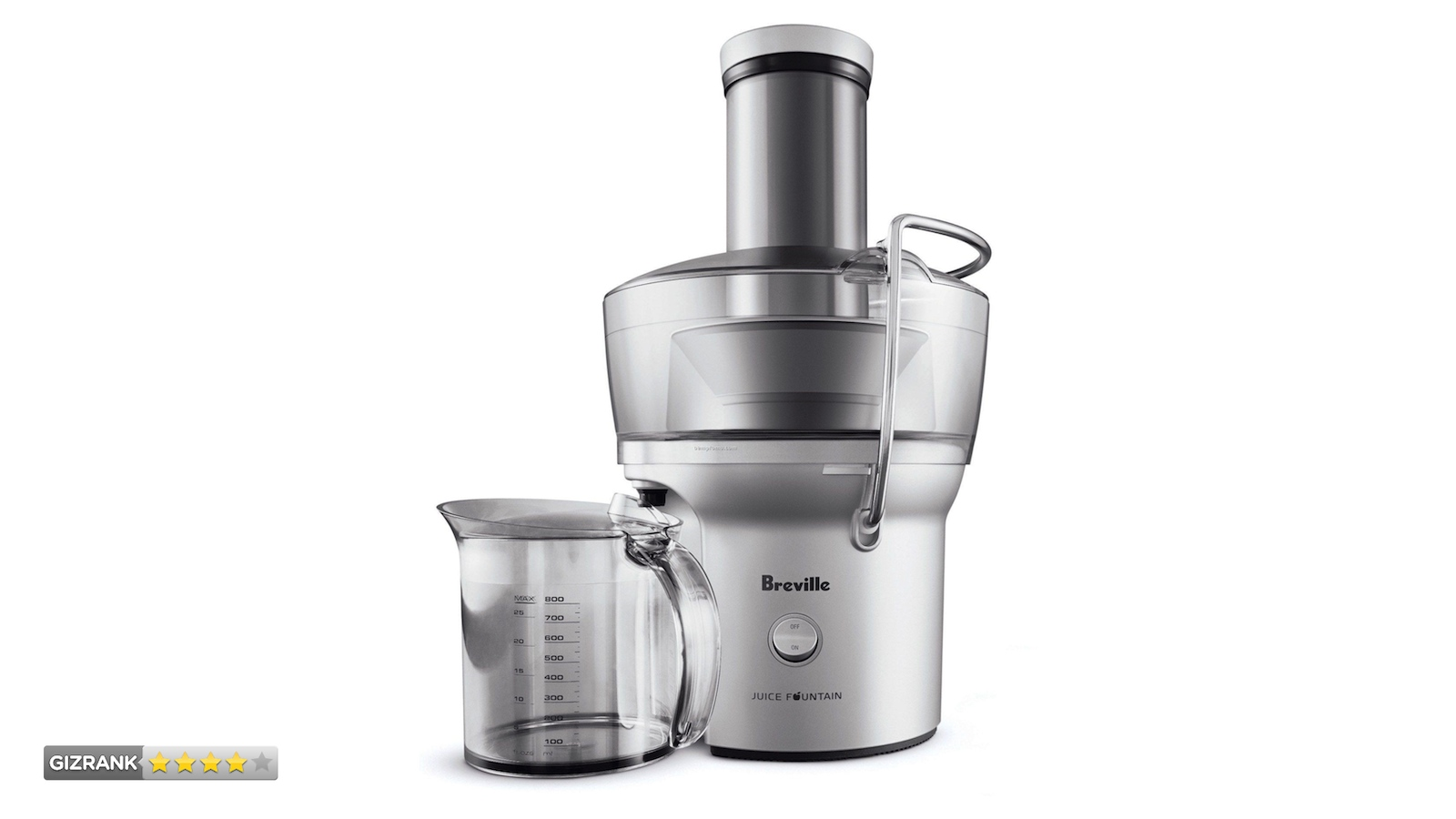 Click here to read Breville Compact Juice Fountain Review: Fast. Efficient. Delicious.