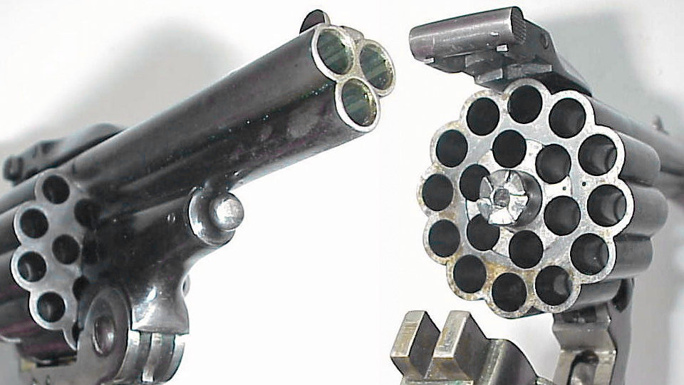 Click here to read Triple Barrel Revolver Makes Anyone an Expert Marksman