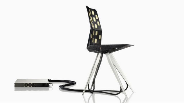 The Race Car-Inspired Chair Designed Using Direct Feedback From Your Butt