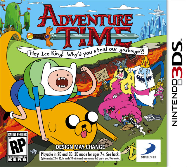 The First Official Adventure Time Video Game Talks Trash This Fall