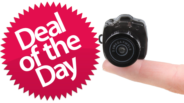This Tiny Digital Camera Is Your So-That's-How-They-Made-A-Bug's-Life Deal of the Day [Dealzmodo]