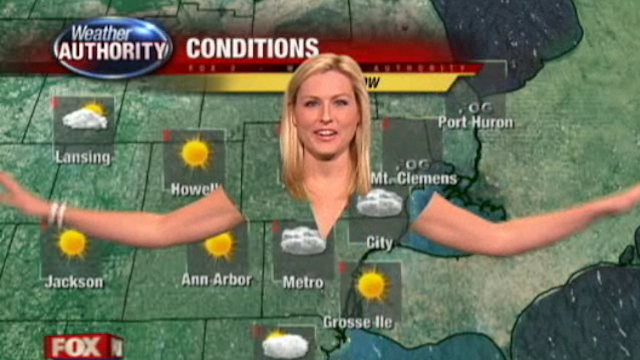 Click here to read A Weather Woman's Clothes Disappeared on Live TV