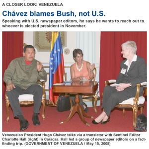 Softball Chavez Interview From Leader Of U.S. Editors