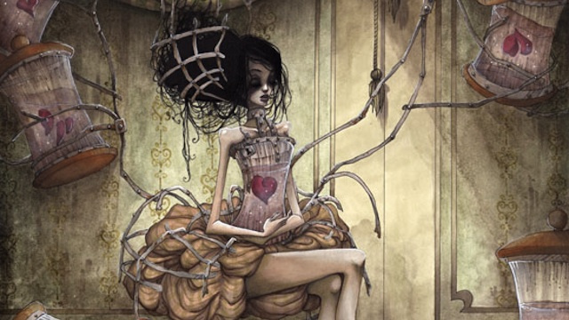 Concept Art Writing Prompt: The Girl Who Kept Her Heart in a Jar