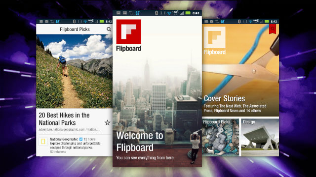 flipboard gets news features