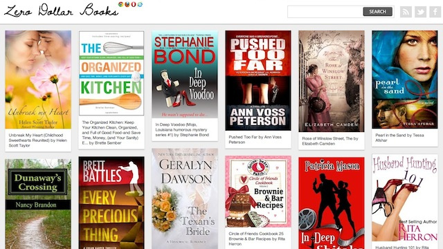 Zero Dollar Books Shows You All the Best Selling Kindle Ebooks Currently Available for Free