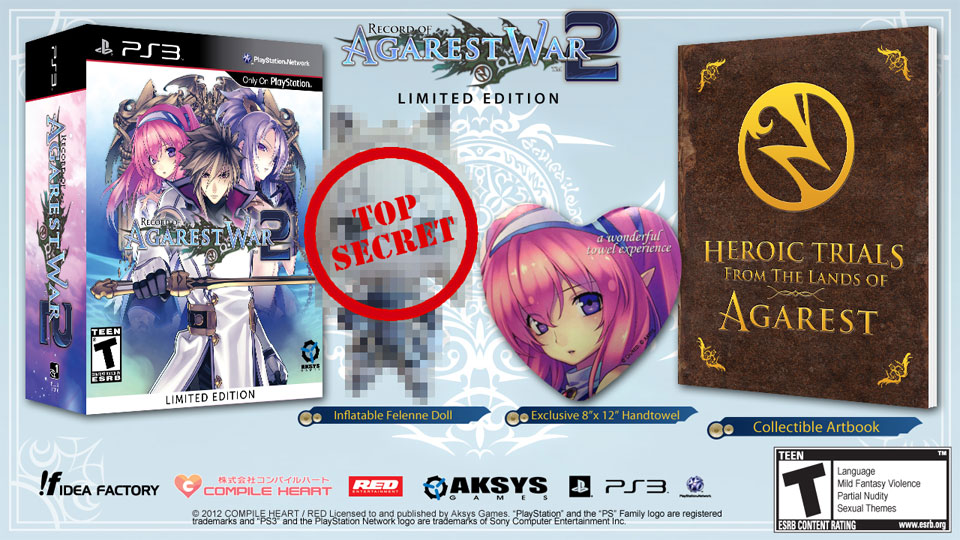 Click here to read The &lt;em&gt;Record of Agarest War 2&lt;/em&gt; Limited Edition Comes With an Inflatable Doll. And a Hand Towel
