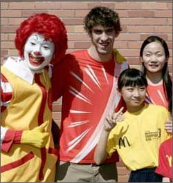 Heroic Phelps Inspires World To Gorge On McDonalds
