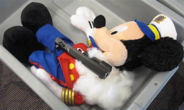 TSA Finds Gun Parts Inside Four-Year-Old's Stuffed Animals, Father Blames 'Domestic Dispute'