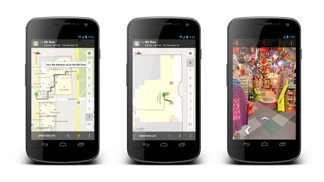 Click here to read Google Maps on Android Now Offers Indoor Walking Directions and Maps Out Google Offers