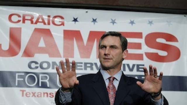The Prospects For Craig James's Senate Campaign Are Getting Even Worse