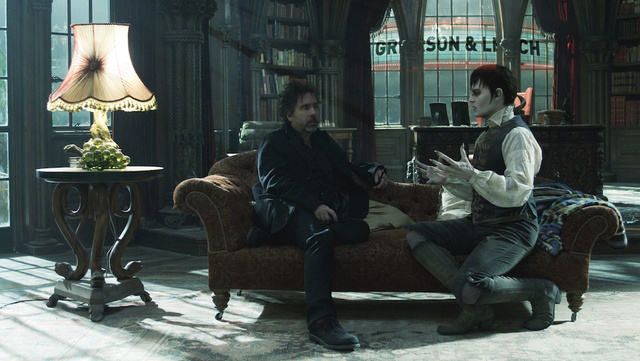 Tim Burton Bottoms Out. Dark Shadows, Reviewed.
