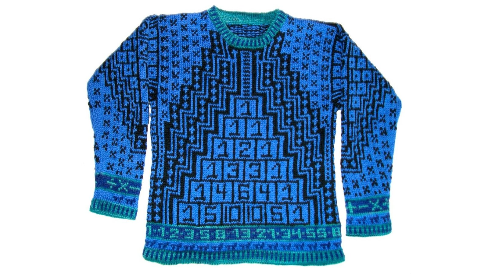 Ruin Your Kid's Rep With This Nerdalicious Maths Jumper