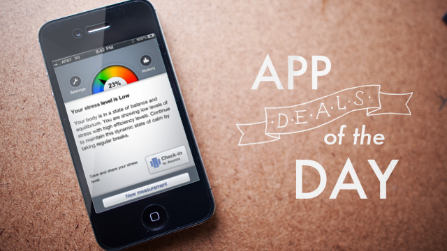 Click here to read Daily App Deals: Get Stress Check Pro for iOS for Free in Today's App Deals