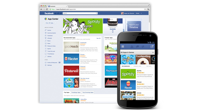 Facebook Is Making Its Own App Store Called App Center