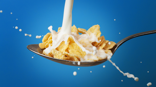 Click here to read You Shouldn't Put Water on Your Cereal, Says Science