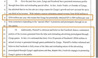 Facebook Named in Federal Class-Action Suit over Scammy Zynga Ads