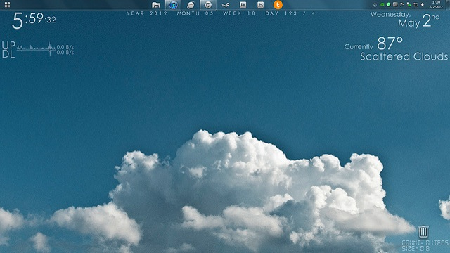 Click here to read The Cloudy Desktop