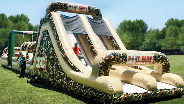 This Inflatable Boot Camp Would Make the Draft Obsolete