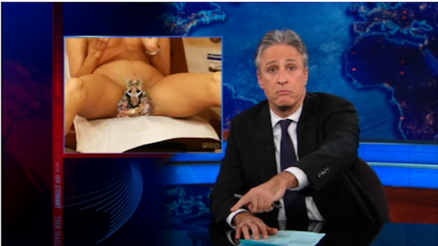 Catholic League Protesting Daily Show by Sending Advertisers Pictures of a Woman's Crotch