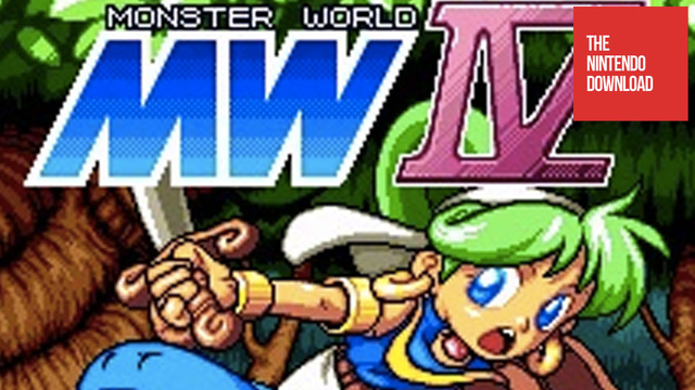 Monster World IV Makes Its North American Debut in Today's Nintendo Download