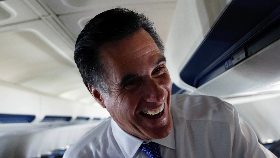Prankster Mitt Romney Terrified Fellow Student With Haircut 'Hack Job' (UPDATE)