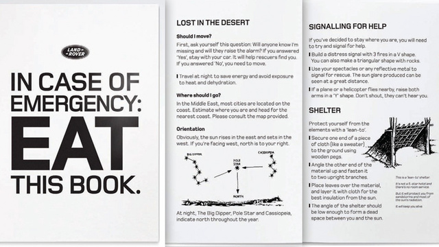 You Can Eat This Emergency Survival Guide When Your Situation Gets Desperate