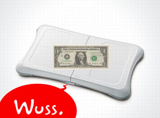 Weak, Flabby Dollar Creating Wii Fit Shortage, Could Probably Use Some Time On Wii Fit