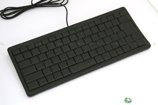 Leather Keyboard from Japanese Artist, Only For Expert Touch-Typers