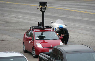 Caption Contest: The Google Maps Prius Gets a Speeding Ticket
