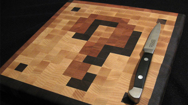 Click here to read Slice and Dice Fire Flowers on This Coin Block Cutting Board