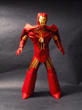 Origami Iron Man Has a Reasonable Handicap