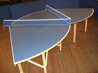 Modular Ping Pong Table Allows For Crazy 12  Player Games