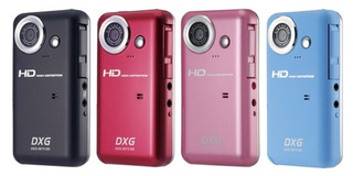 DXG-567V Camcorder is HD-recording, YouTube-ing Flip Cam Rival